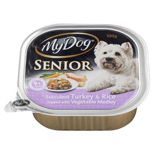 My Dog Adult Dog Food Senior Turkey Rice & Vegetable