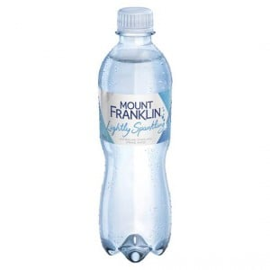 Mount Franklin Lightly Sparkling Mineral Water