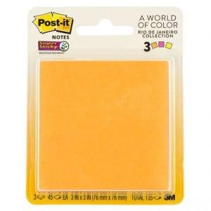 Post-it® Super Sticky Jewel Pop Pad