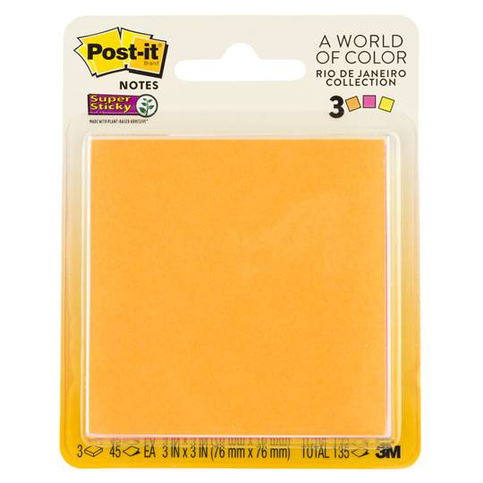 Post-it® Super Sticky Jewel Pop Pad