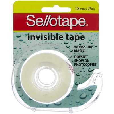 Sello Invisible Tape Dispenser 18mmx25m