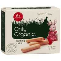 Only Organic Snack Teething Rusks