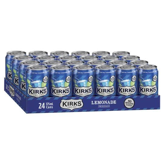 Kirks Lemonade Can