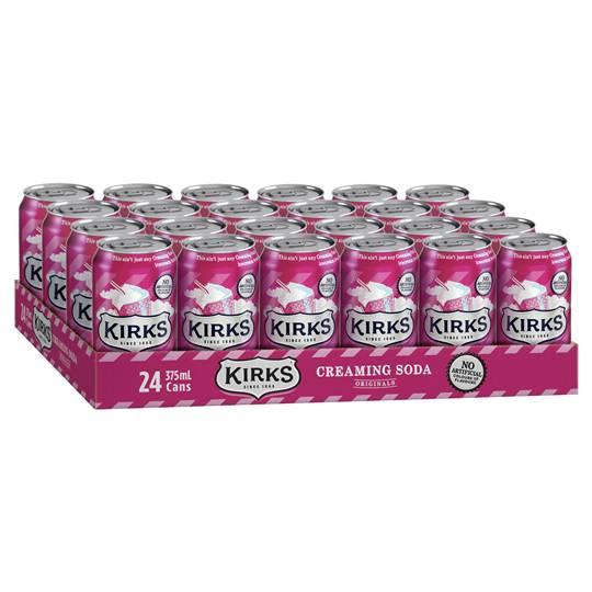 Kirks Creaming Soda Can