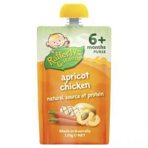Rafferty's Garden Food 6 Months Apricot Chicken Puree