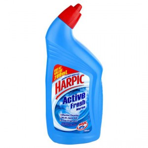 Harpic Active Toilet Cleaner Marine Fresh