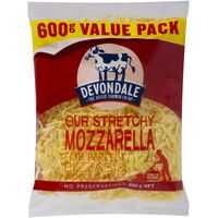 Devondale Shredded Mozzarella Grated Cheese