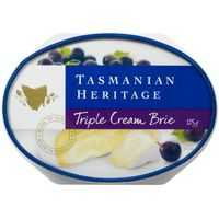 Tasmanian Heritage Triple Cream Oval Cheese
