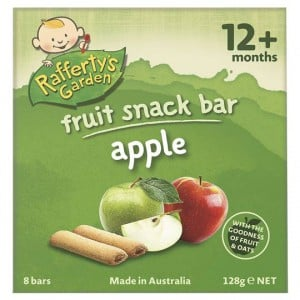 Rafferty's Garden Snack Snack Fruit Apple Bars
