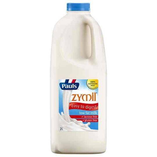 Pauls Zymil Low Fat Milk