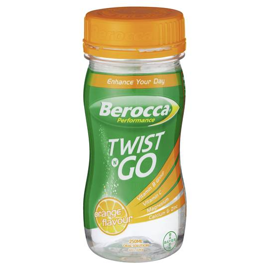 Berocca Performance Drink Orange Twist & Go