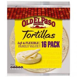 Old El Paso Tortillas Family Pack