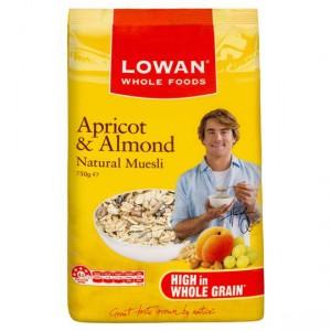 Lowan Apricot & Almond Muesli
