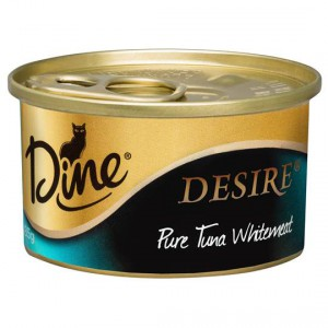 Dine Desire Adult Cat Food Pure Tuna Whitemeat