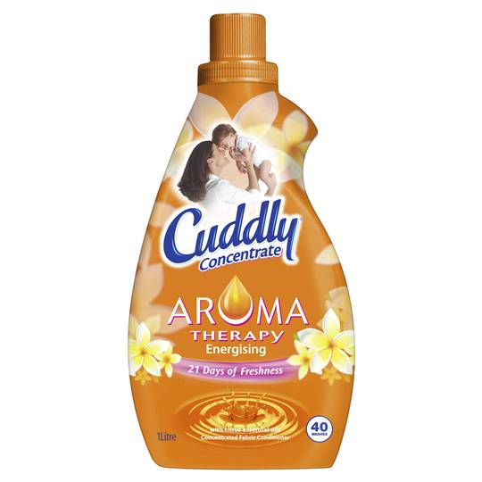 Cuddly Fabric Softener Aroma Therapy Energising