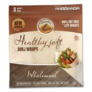 Vitastic Sorj Healthy Wraps Wholemeal