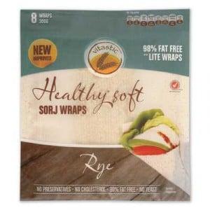 Vitastic Sorj Healthy Wraps Rye