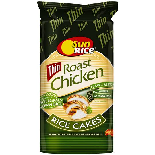 Sunrice Rice Cakes Chicken