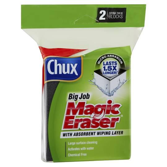 Melissa89 reviewed Chux Magic Eraser Big Job Extra Thick