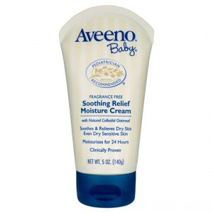 Aveeno Baby Lotion Soothing Relief Moisture Cream