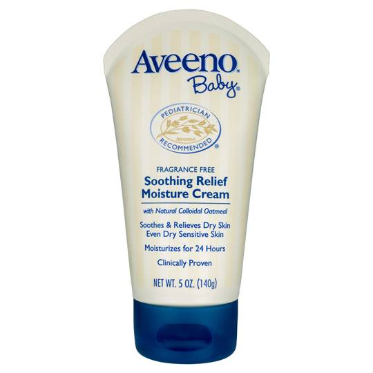 AussieMomOf3 reviewed Aveeno Baby Lotion Soothing Relief Moisture Cream