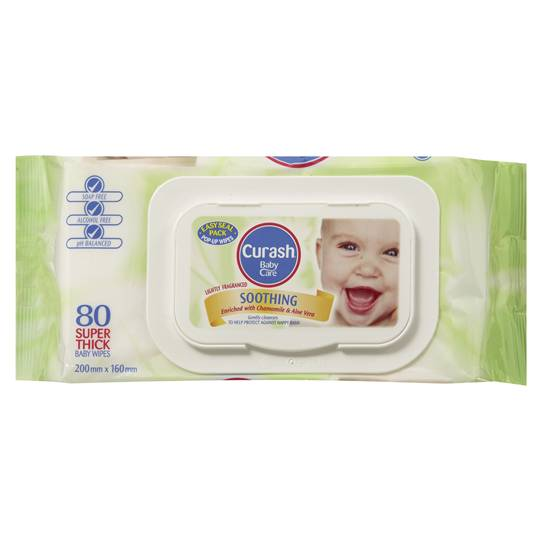 Curash Wipes Soothing Wipes