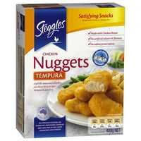 Steggles Tempura Chicken Breast Nuggets