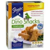 Steggles Tempura Chicken Dino Snacks