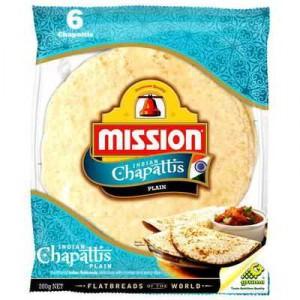 Mission Bread Chappati Plain