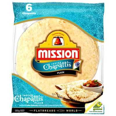 Mission Bread Chappati Plain