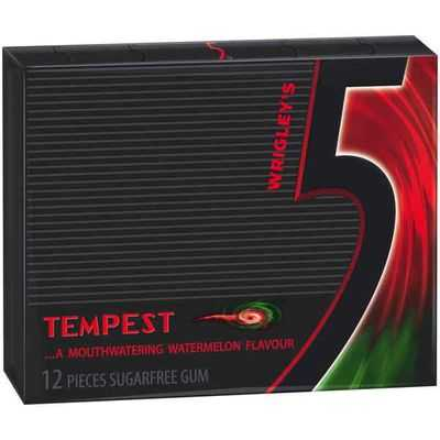 Wrigley's 5 Sugarfree Gum Tempest