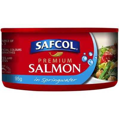 Safcol Salmon Atlantic Spring Water