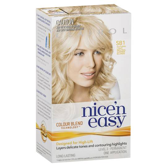 Clairol Nice N Easy Sb1 Summer Blonde
