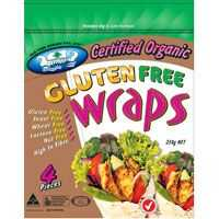 Old Time Wraps Organic Gluten Free