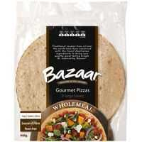 Bazaar Pizza Bases Wholemeal