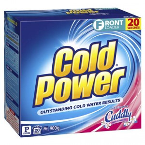 Cold Power With Cuddly Front Loader Laundry Powder