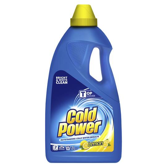 Cold Power Top Loader Liquid Lemon