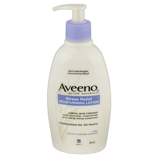 Aveeno Active Body Moisturiser Stress Relief Lotion