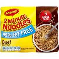 Maggi Beef 2 Minute Noodles 99% Fat Free