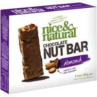 Nice & Natural Chocolate Nut Bar Almond