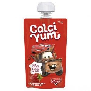 Calci Yum Kids Squeezie Boy Strawberry Yoghurt