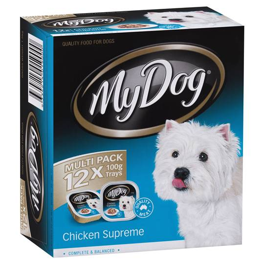 My Dog Adult Dog Food Chicken Supreme Multipack