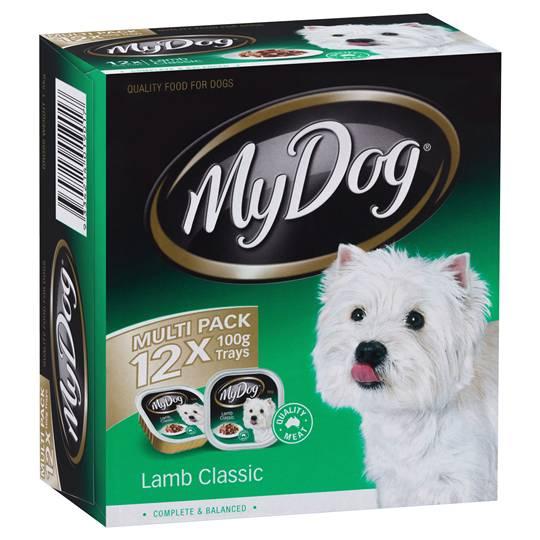 My Dog Adult Dog Food Classic Lamb Multipack