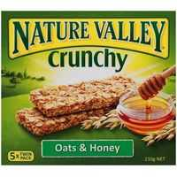 Nature Valley Crunchy Oats And Honey Bars
