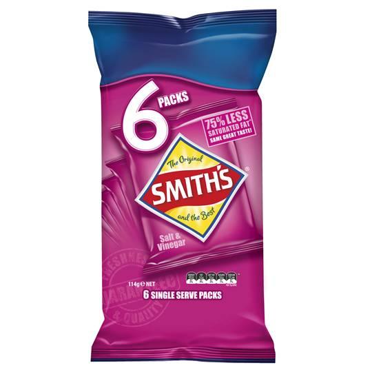 Smith's Chips Multipack Salt & Vinegar