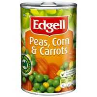 Edgell Mixed Vegetable Corn & Carrots
