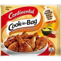 Continental Cook-in-bag Recipe Base Honey Bbq Chicken