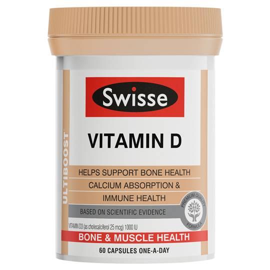 Swisse Ultiboost Vitamin D Caps