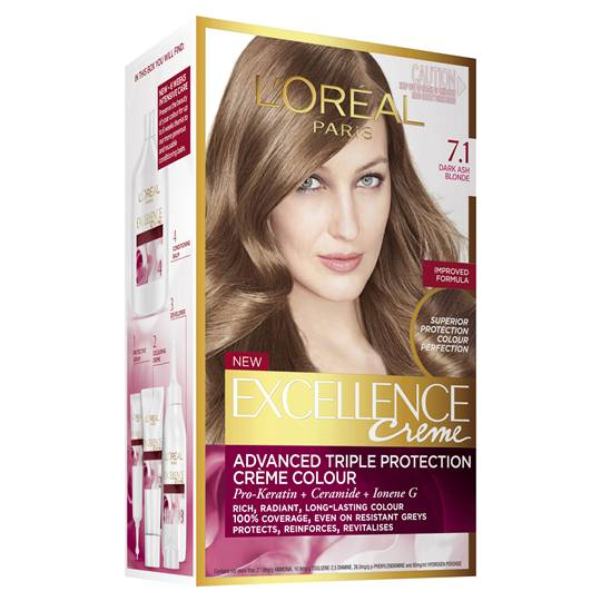L'oreal Excellence Crème 71 Dark Ash Blonde