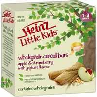 Heinz Little Kids 1-3 Years Wholegrain Apple & S/berry Bar